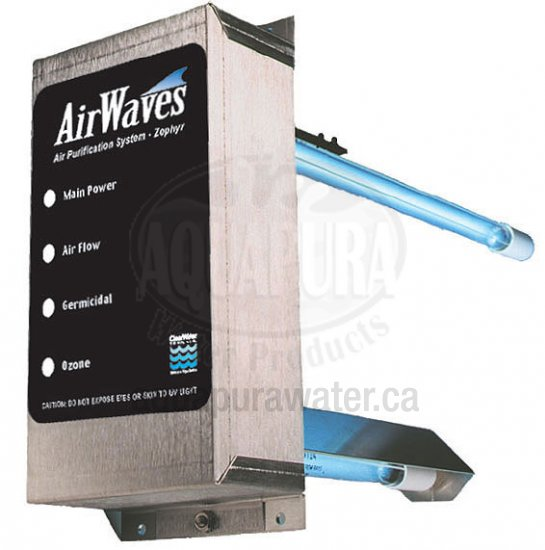 AirWaves Natural Whole House UV/Ozone Air Purification System - Click Image to Close