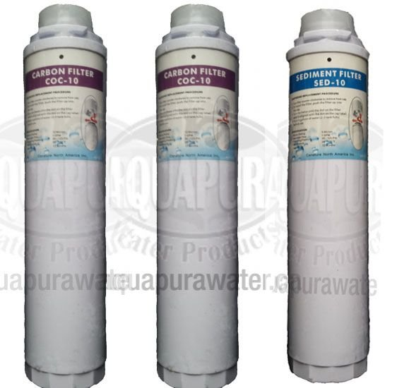 5 Pack Canature 475 Pro QC Replacement Filters - Click Image to Close